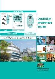 laboratory information system 1 - Kementerian Kesihatan Malaysia