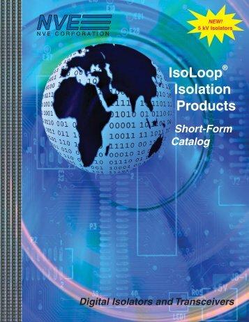 Digital Isolator Catalog (.pdf) - NVE Corporation