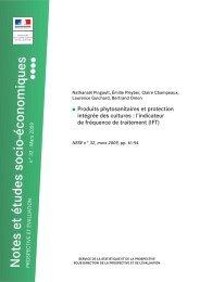 Produits phytosanitaires et protection intégrée des cultures - Agreste