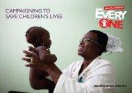 Annual Progress Report April 2012 - EveryOne - Save the Children