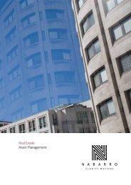 Real Estate Asset Management - Nabarro