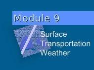 Module 9 - Western Transportation Institute