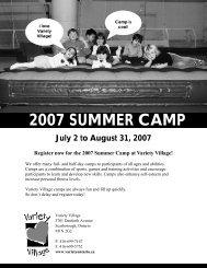 Summer Camp April 2007