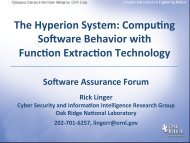 The Hyperion System: CompuZng Software ... - Build Security In