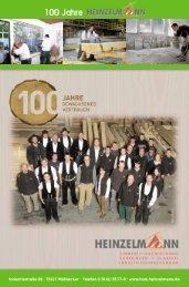 100 Jahre - Holz Heinzelmann