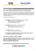 Booklet - ED Workshop in Annecy - Europa Distribution - Page 4