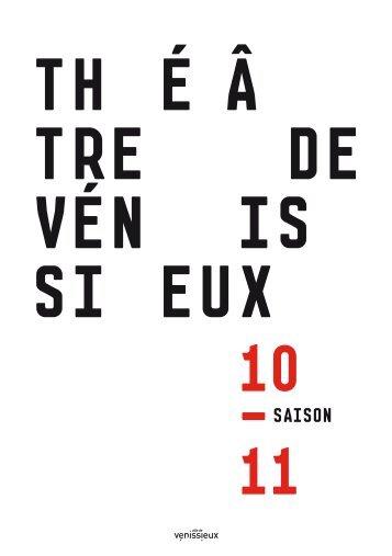 programme 10/11 - Théâtre de Vénissieux
