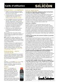 GT743 Liquid Silicon instructions - French.indd - Growth Technology - Page 2