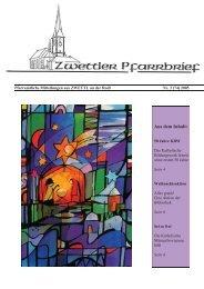 Pfarrbrief Nr. 3/2005 - Pfarre Zwettl an der Rodl
