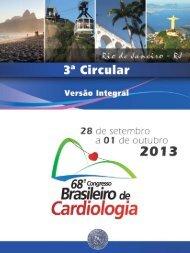 RJ - 66 Congresso Brasileiro de Cardiologia - Sociedade Brasileira ...