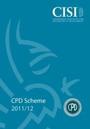CPD Scheme 2011/12