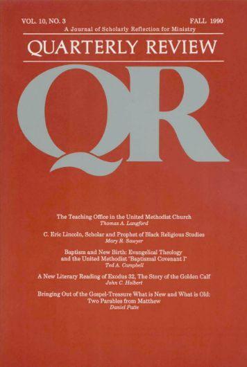 Fall 1990 - Quarterly Review
