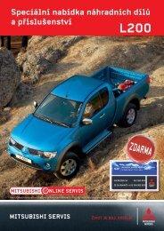 Speciální nabídka náhradních dílů a příslušenství - M Motors CZ, s.r.o.