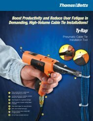 Ty-Rap - Pneumatic Cable Tie Installation Tool