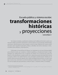 transformaciones históricas y proyecciones - Revista Docencia