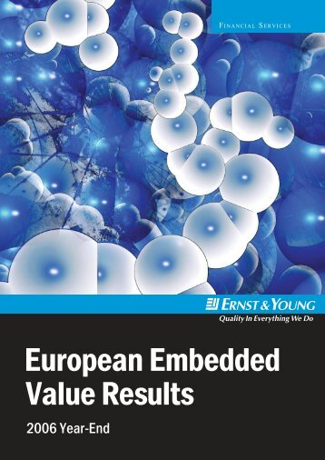 3594 European Embedded Value Results 2006.indd