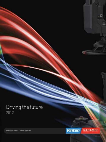 Driving the future - Vinten Radamec