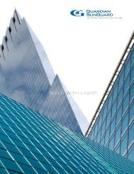 SunGuard Advanced Architectural Glass