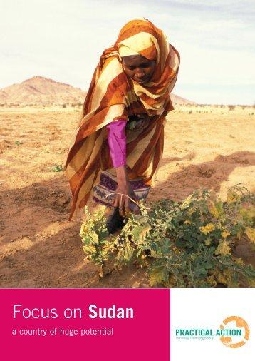 Sudan - Practical Action