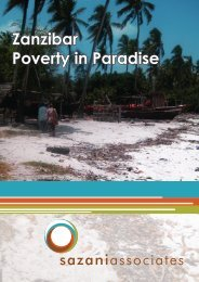 Zanzibar Poverty in Paradise - Sazani Associates
