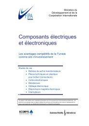 Composants électriques et électroniques