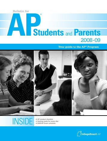 Students and Parents - College Board