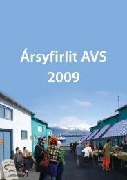 Arskyrsla 2009.indd - AVS