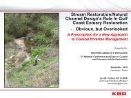 Stream Restoration/Natural Channel Design's Role In Gulf - Restore ...