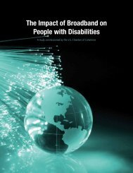 The Impact of Broadband on People with Disabilities