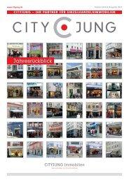 Vermietung von Ladenlokalen in 1A-Lagen - Cityjung Immobilien