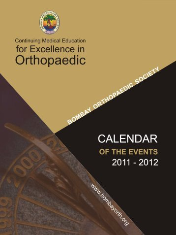 of the events - Orthopaedic Principles