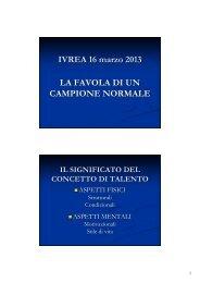 Relazione Roberto Pericoli (La Favola di un ... - Fidal Piemonte