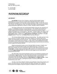 Press Release - International Music Network