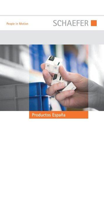 Prospecto de productos España (9MB) - SCHAEFER
