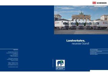 Landverkehre, neuester Stand! - Schenker Deutschland AG - DB ...
