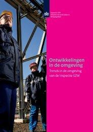Bijlage 2: Ontwikkelingen in de omgeving - Inspectie SZW
