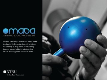 Omada brochure - NTNU Technology Transfer