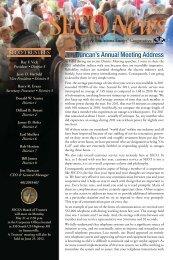 Jim Duncan's Annual Meeting Address - SECO Energy