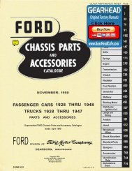 DEMO - 1928-48 Ford Chassis Parts and Accessories Catalogue