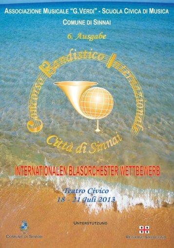 Ausschreibung Internationaler Blasorchester Wettbewerb