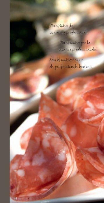 Un clásico de la cocina profesional. Un classico per la cucina ...