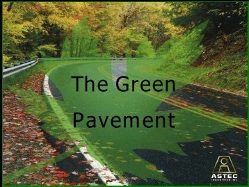 The Green Pavement