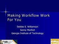Making Workflow Work For You: An Implementation Guide
