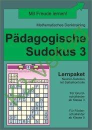 Sudoku 3 (schwarz-weiß)