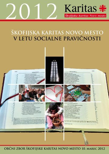Besedilo zbornika Åkofijske Karitas Novo mesto.