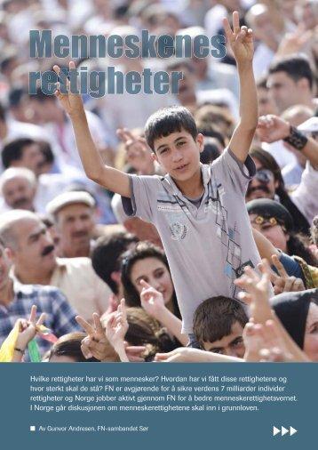 Menneskenes rettigheter - FN-sambandet