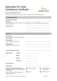 Code Compliance Certificate Application Form - PDF - Palmerston ...