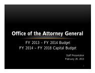 Office of the Attorney General - State