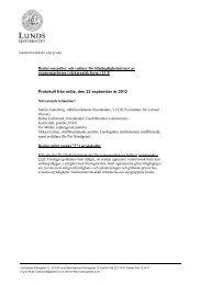 Beslut om policy och rutiner för tillgänglighetsnivåer av ...