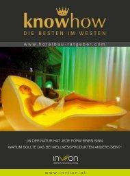 knowhow - The best of hotel architecture Auf zu neuen Ufern